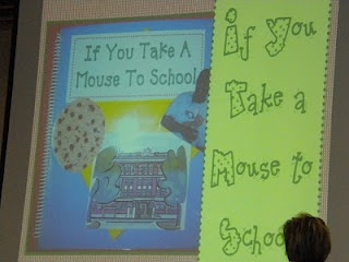 Cute way to introduce students to the staff and school building!!