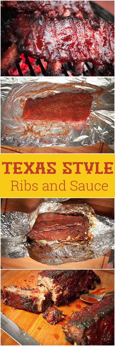 Cooked in the Oven, then finished on the grill: Texas Style Baby Back Ribs, Rub and Sauce Recipe.