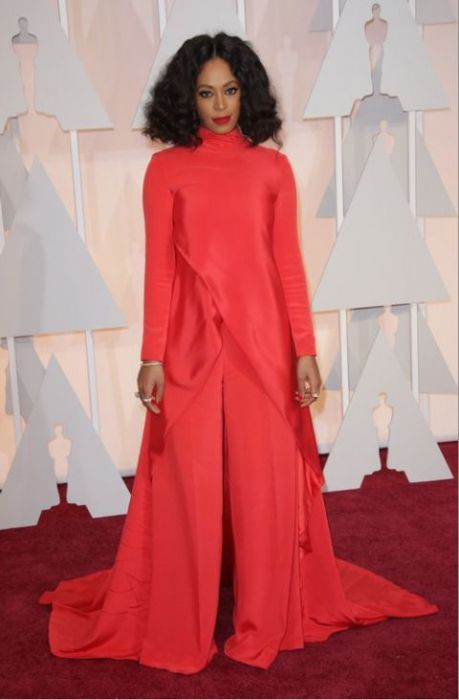 Solange Knowles w sukni Christian Siriano, Oscary 2015