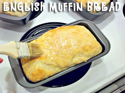 My Mom's Wonderful English Muffin Bread!   One Good Thing by Jillee: Mom Amazing, Fun Recipes, Good Things, Easiest Breads, Breads Recipes, 5 Ingredients, English Muffins Breads, Toast, Amazing English