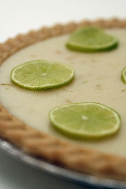 Was looking for vegan Key Lime Pie recipes but most use a whole boat-load of coconut oil..this is much better.  Plus it's from one of my favorite vegan cookbook/recipe authors!!  :-)  Key Lime Pie by isachandra, via Flickr