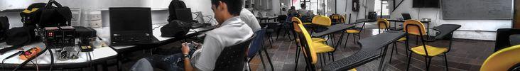 un panorámica del mi salón de clase