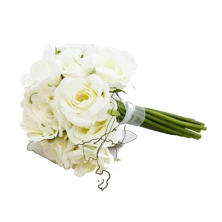 Artificial Rose Bouquet | Dunelm