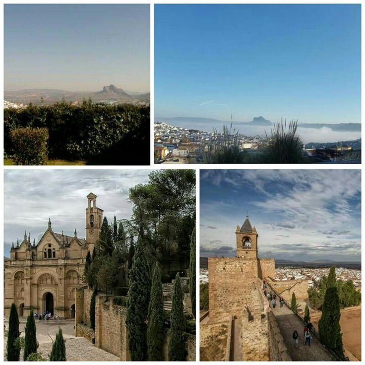 Todo un lujo despedir el año con estas maravillosas vistas de Antequera, desde el Recinto Monumental Alcazaba-Real Colegiata.