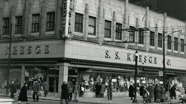 Kresge Store at King and Hughson was taken in 1960