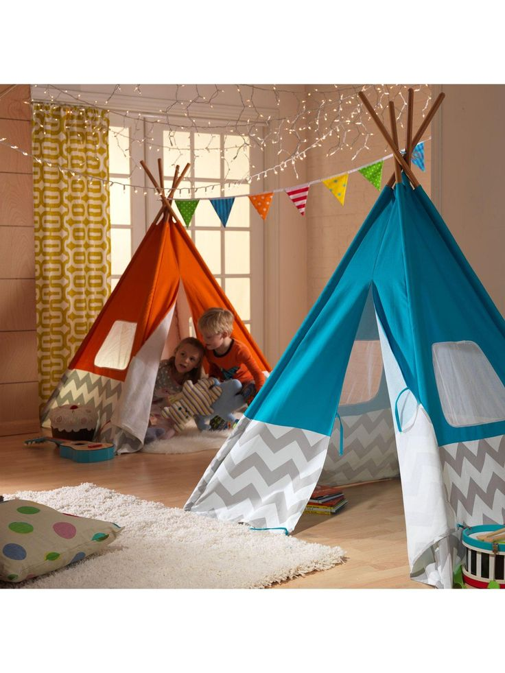 Kidkraft Play Teepee - Turquoise  sc 1 st  Pinterest & 24 best Library - Reading Tent images on Pinterest | Reading nook ...