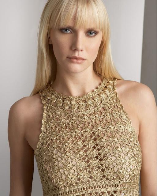 crochet - Uncinetto d'oro: Abito.