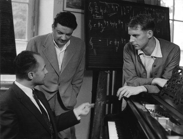 Pierre Boulez, Bruno Maderna, Karlheinz Stockhausen