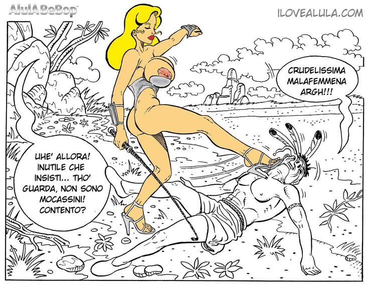 AlulA BeBop the Fetish Big Boobs Big Boobs - Comics - Fumetti - Fetish.