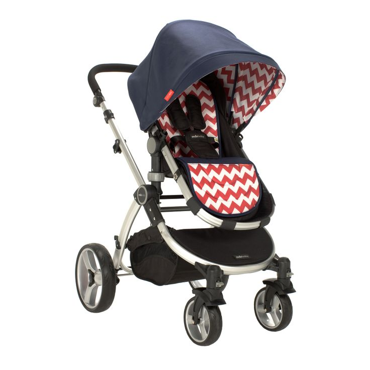 Redsbaby Bounce - The Utlimate All-In-One Stroller/ Pram www.redsbaby.com.au Add a little style to your day when out and about with your bub with a modern chevron stroller!
