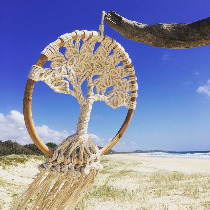 Dream Catcher Boho Luxe Tree of Life $99 www.oceannomadaustralia.com.au