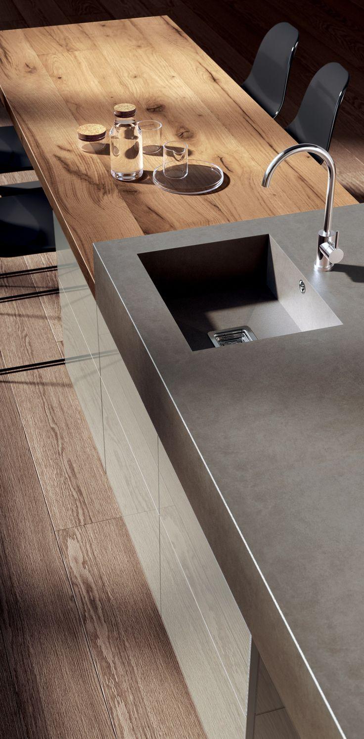 Fitted kitchen TETRIX - @scavolini