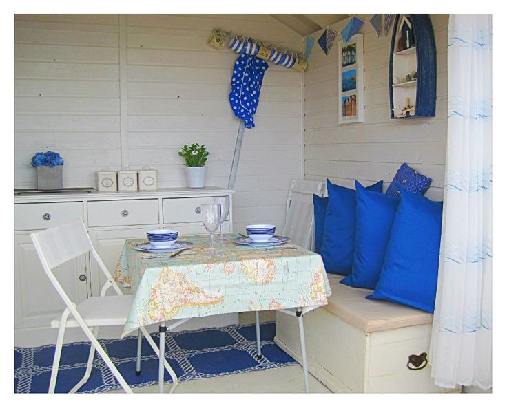The 25+ best Beach hut interior ideas on Pinterest | Nautical ...