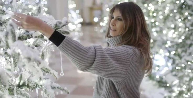 Drop Everything And Watch Melania Decorate The White House to Honor Fallen Heroes