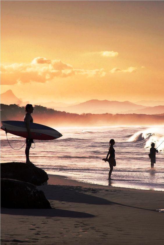 Surf - Byron Bay, Australia