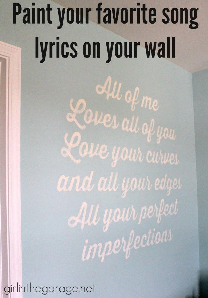 Song lyric canvas | Etsy