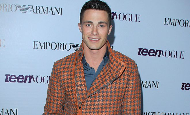 Colton Haynes talks about coming out