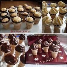 Ich hab mal eine neue Kreation von Cupcakes ausprobiert.Aus unserer Tageszeitung,die Topping Idee ist von mir.