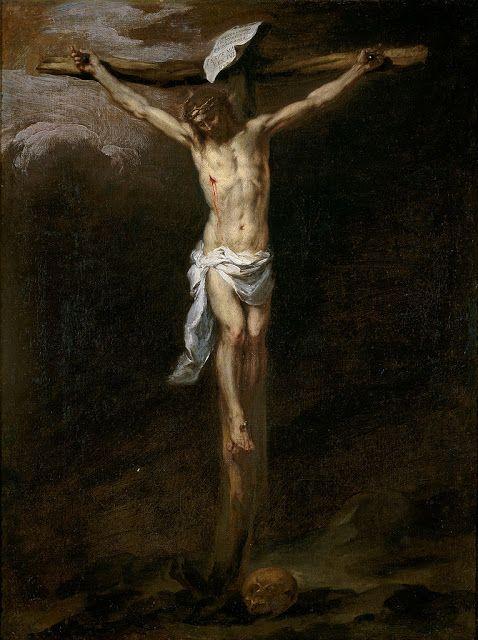 O Χριστός στο σταυρό (1677) Μουσείο ντελ Πράδο στη Μαδρίτη