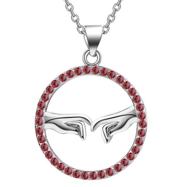 Hot wholesale silver plated charm Necklace,free shipping 925 stamped fashion jewelry pendant  AN1783/dfyalxfa