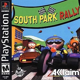 South Park Rally Sony PlayStation 1 2000 PS 1 VERY RARE video game mature