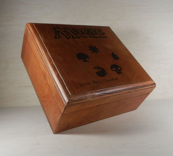 20% Off Easter Sale! Custom MTG Deck Box Holds 12 Standard Sized Decks Magic the Gathering on Etsy, $76.76