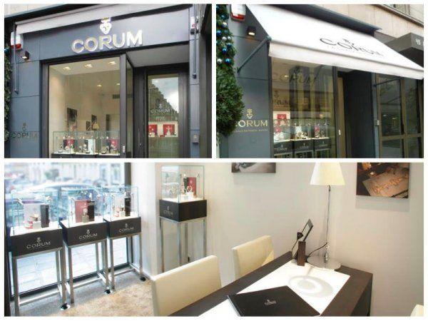 Boutique / Shop Paris  designed by Pozzo di Borgo Styling.
