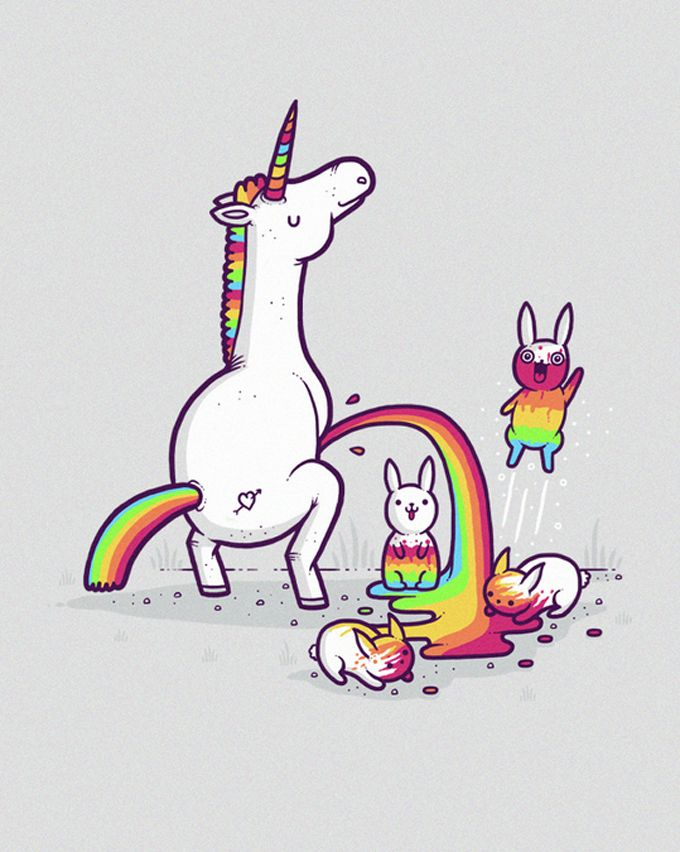 As ilustrações bem humoradas de Randy Otter