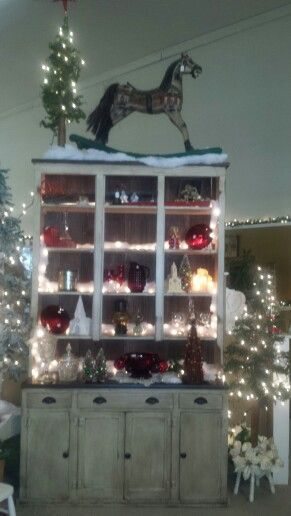 Beautiful Cupboard At Railroad Towne Antique Mall, 319 W St, Grand Island,  NE,