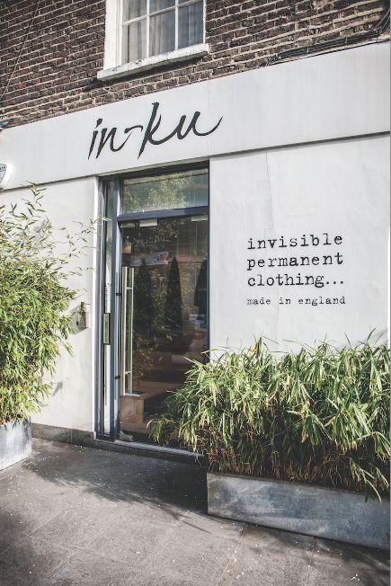 UNIVERSAL UTILITY: Carin Mansfield's shop, In-Ku, in Warren Street