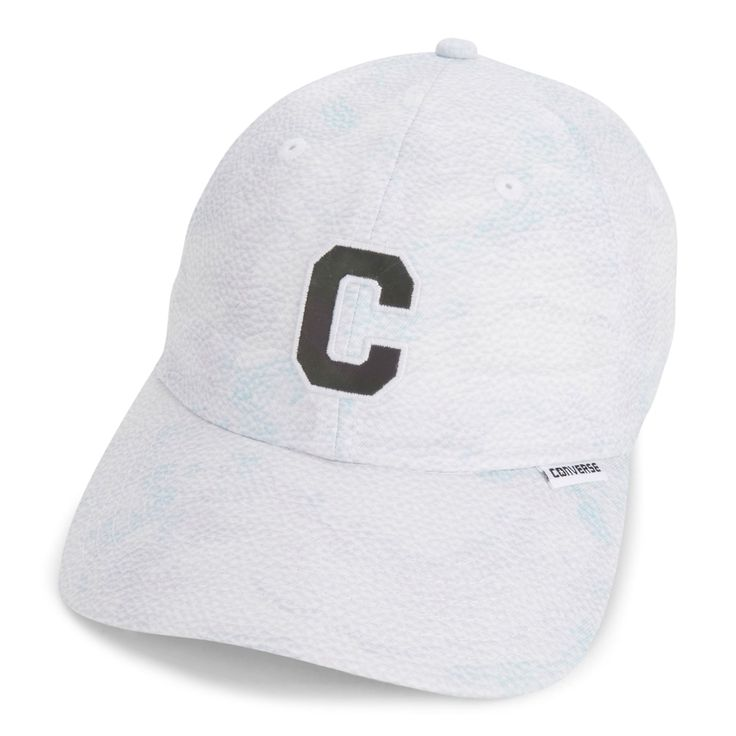 Women's Converse Winter White Baseball Cap, Black