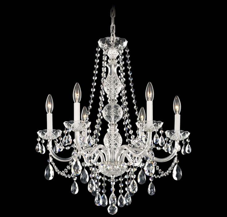 The 25 best schonbek chandelier ideas on pinterest crystal schonbek arlington 6 light crystal chandelier in brands schonbek lighting schonbek chandeliers aloadofball Image collections