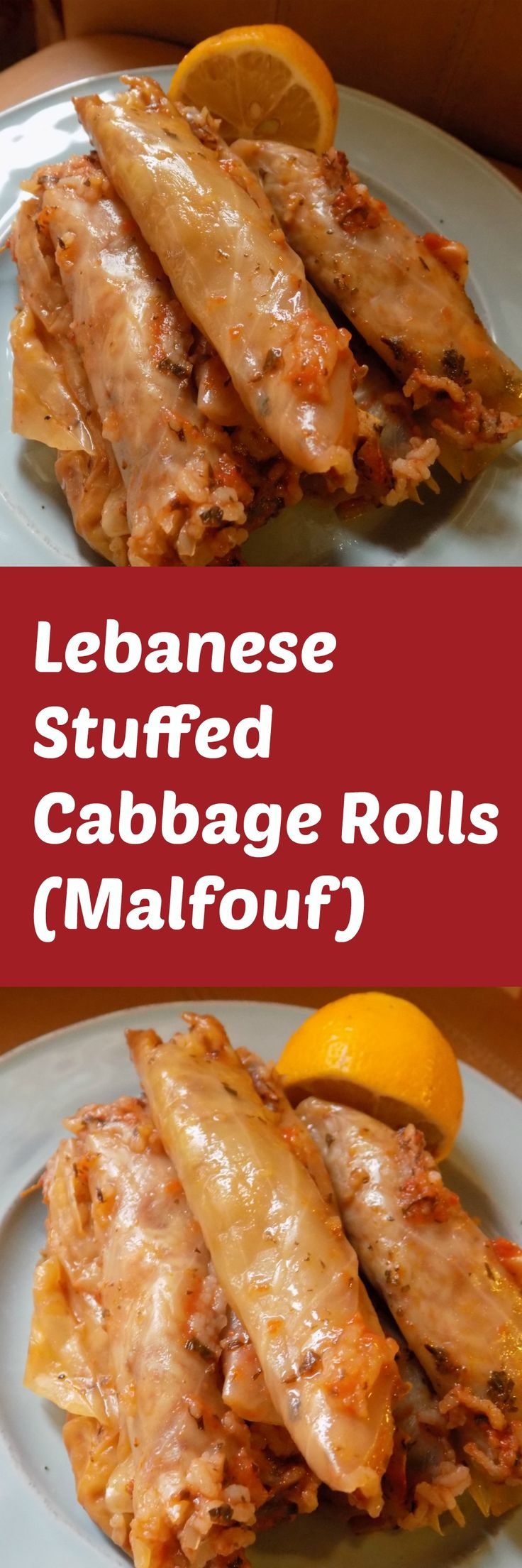 Delicious Lebanese stuffed cabbage rolls aka Malfouf. Even cabbage haters will be converted. #malfouf #lebaneserecipes
