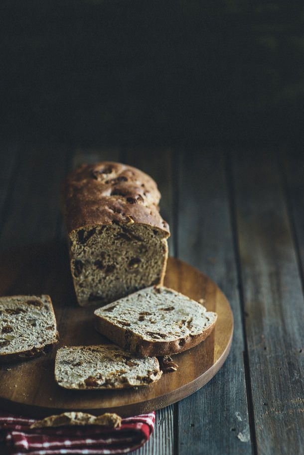 Fig & Walnut Bread via Souvlaki For The Soul #recipe