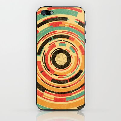 Space Odyssey iPhone & iPod Skin by Budi Satria Kwan - $15.00