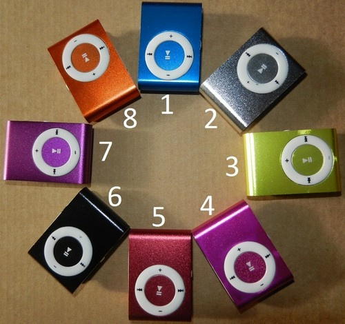 Mini Clip on MP3 Player Supports 32GB Micro SD SDHC w Headphones Bundle USB | eBay