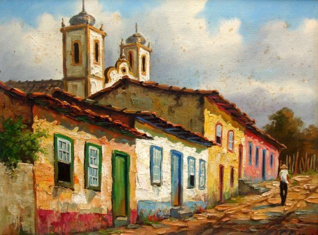 Claudio Arena - Igreja e Casario