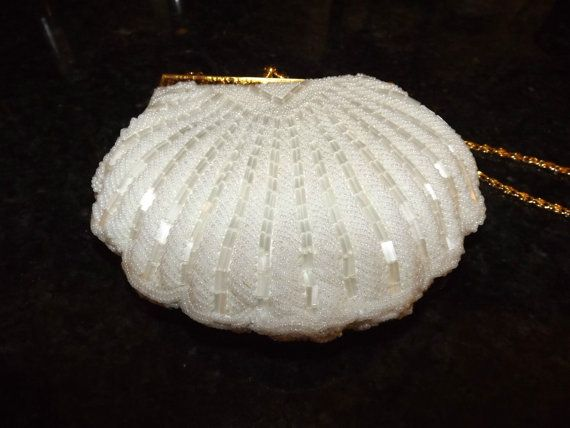 Ed B Robinson Heirloom Shell Shaped Handmade by CherishednTimeless, $148.00