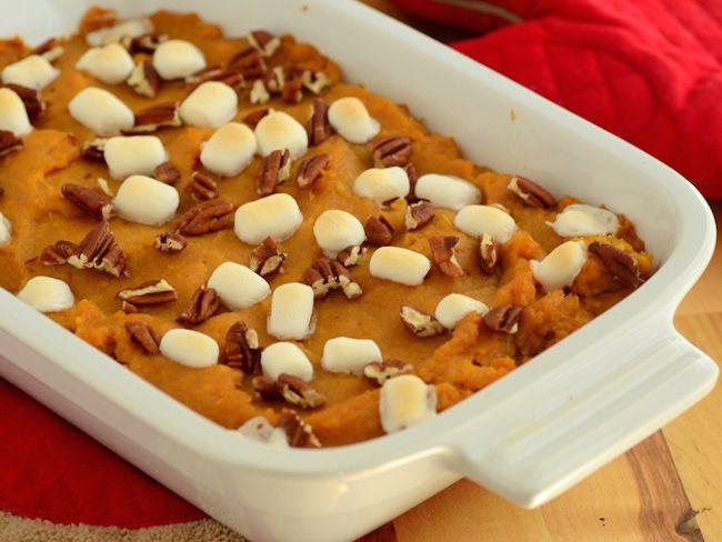 Sweet Potatoes With Marshmallows Americas Test Kitchen