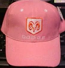 Pink Dodge Hat ☆ Girly Cars for Female Drivers! Love Pink Cars ♥ It's the dream car for every girl ALL THINGS PINK!