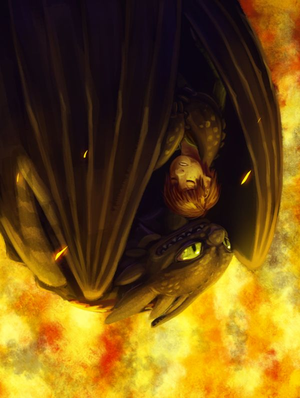 Safe and Sound ...   How to train your dragon, toothless, hiccup, night fury, dragon, viking