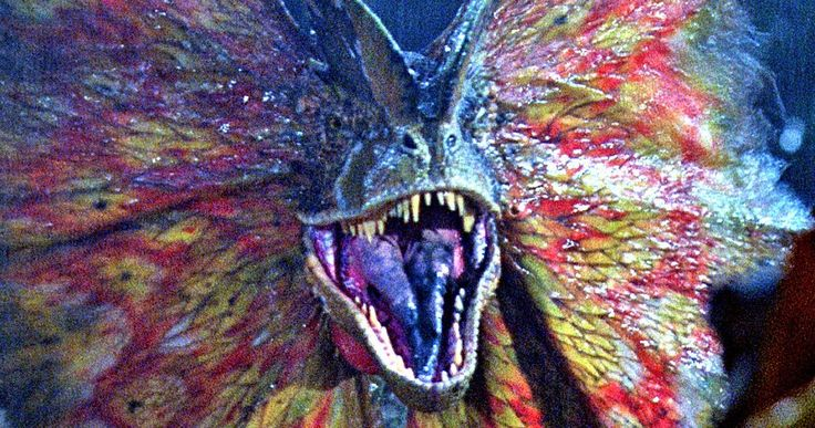 The Dilophosaurus Returns in New Jurassic World 2 Set Photos -- Get your first look at two familiar dinosaurs that were spotted on the U.K. set of Jurassic World 2. -- http://movieweb.com/jurassic-world-2-set-photos-dinosaurs-puppets-dilophosaurus/