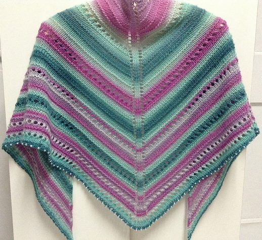 113 best images about Multi-Colored Yarn Knitting Patterns on Pinterest Ves...