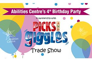 Abilities Centre Birthday Par​ty!  June 4, 2016  10am - 3 pm    Children's Planned Activities  • Childrens Playground/Pool  • Flush Toilets/Washrooms  • Food Available  • Planned Events  • Public Washrooms  • Smoke Free  • Wheel Chair Accessible   Help out a local Charity with some family fun!
