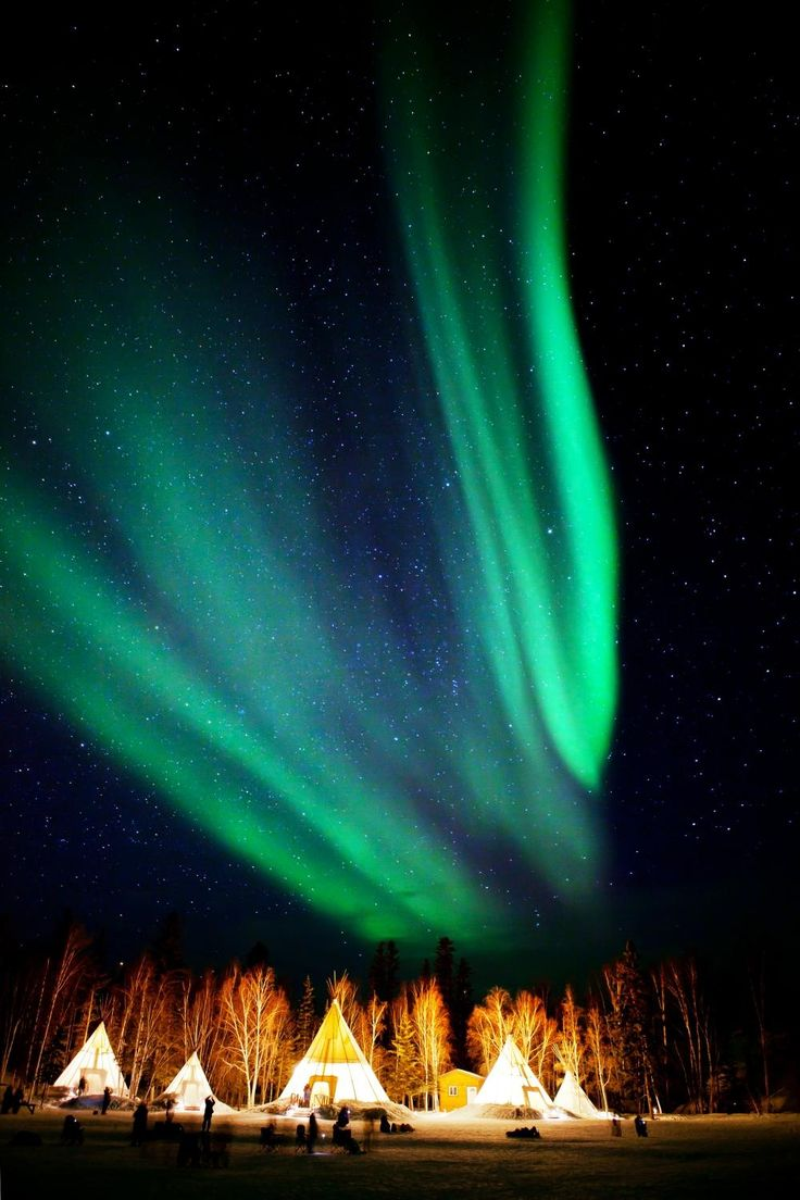 Aurora Village (Yellowknife, Canada) - pin curated by @poppytalk for @explorecanada