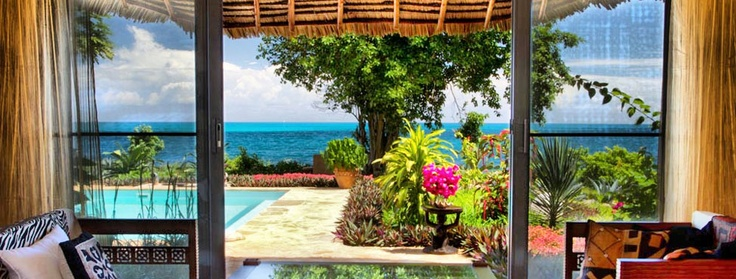 Hotel Zanzibar. Zanzi Resort - luxury private & peaceful resort Villas Beach Front superb for honeymooners