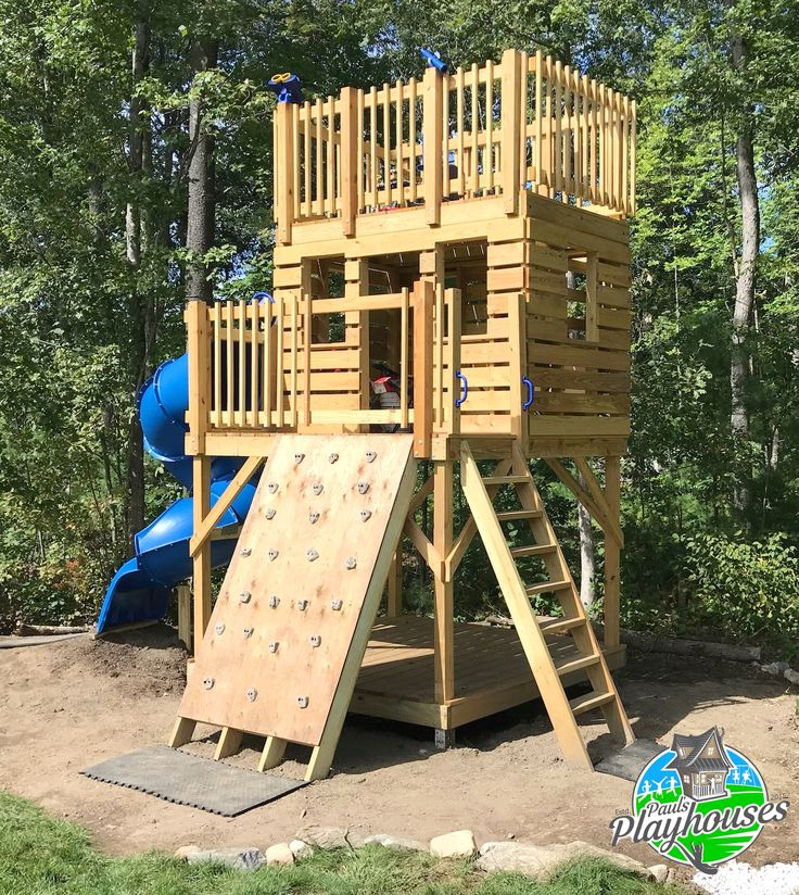 Paul's Clubhouse Plan in 2020   Backyard for kids, Play ...