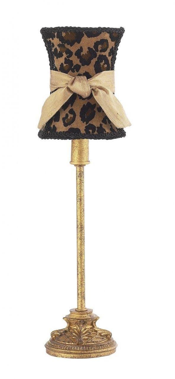 Leopard Print Floor Lamp Animal Print Decor Leopard Print Decor Animal Print