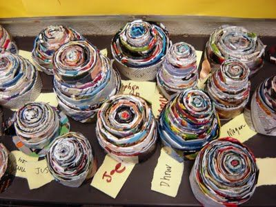For the Love of Art: 6th Grade magazine bowls