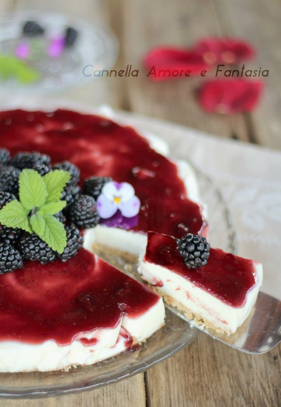 Cheesecake alle more ...